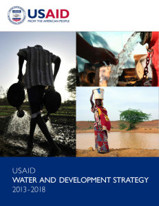 USAID Water and Development Strategy