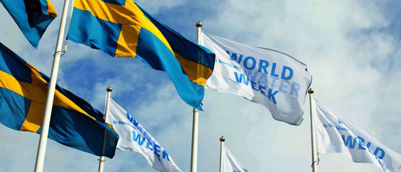 World Water Week Taking Place Aug. 26-31 in Stockholm, Sweden