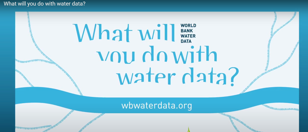 New World Bank Portal Provides Curated List of Water Data
