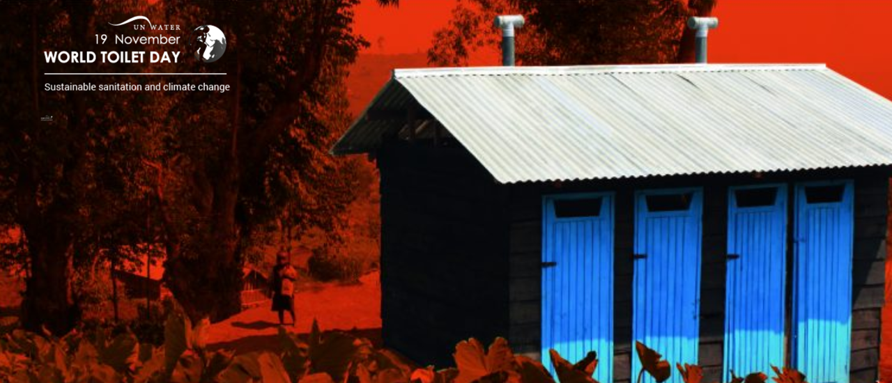 World Toilet Day Highlights 'Sustainable Sanitation and Climate Change'