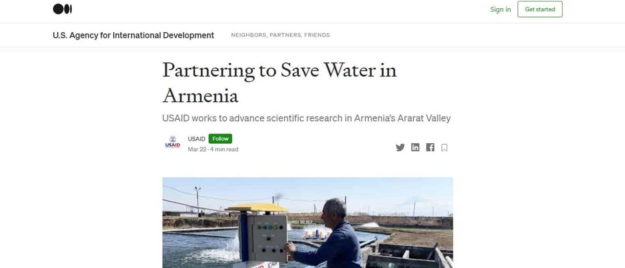 USAID Features ME&A-Led ASPIRED Project in World Water Day 2021 Article